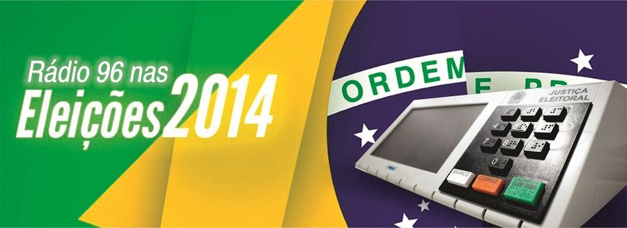 Rádio 96 nas eleições 2014